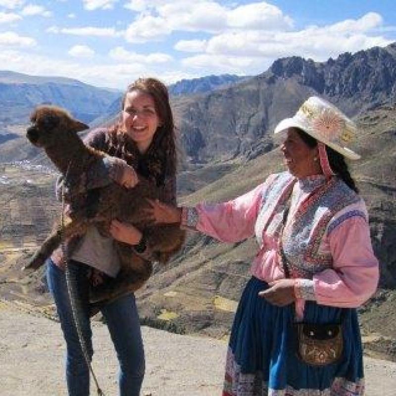 Emma S in Peru